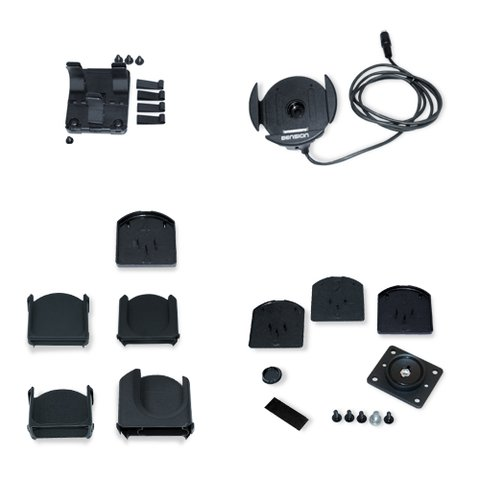 Dension IPO3CR9 9 контактний автомобільний тримач з комплектом адаптерів
