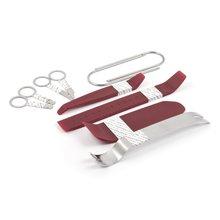 Набор инструментов для снятия обшивки 10 предметов, полиуретан сталь  - Краткое описание