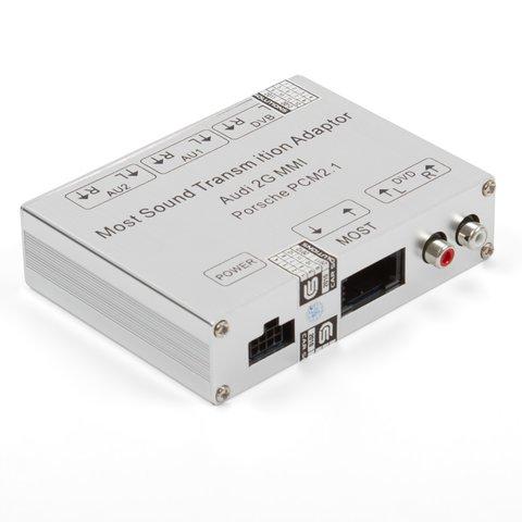 Автомобильный аудиоадаптер MOST для Audi 2G MMI Porsche PCM 2.1
