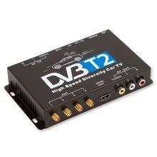 Автомобильный цифровой тюнер DVB T2 с 4 антеннами - Краткое описание