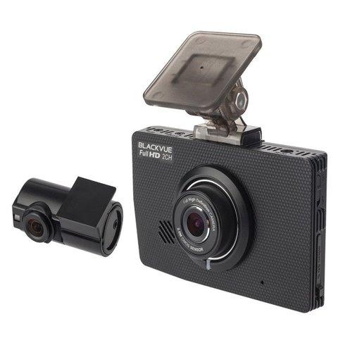 Видеорегистратор с встроенным дисплеем, G-сенсором и датчиком движения BlackVue DR490 L-2СH GPS