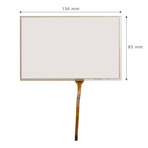 "5.8"" Universal Flexible Touch Screen Panel"