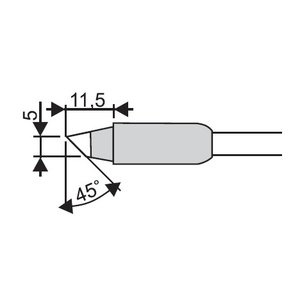 Soldering Iron Tip Goot RX-85HRT-5BC