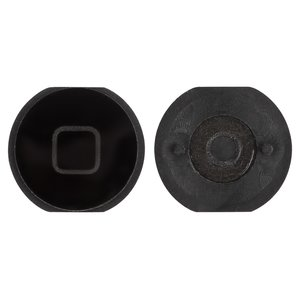 HOME Button Plastic for Apple iPad Mini Tablet, (black)