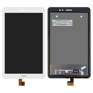 LCD for Huawei MediaPad T1 8.0 (S8-701u), MediaPad T1 8.0 LTE T1-821L Tablets, (white, with touchscreen) #N080ICE-GB1 Rev.A1/HMCF-080-1607-V5