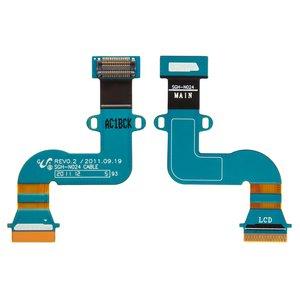Cable flex para tablet PC Samsung P3100 Galaxy Tab2 , P3110 Galaxy Tab2 , LCD, con componentes