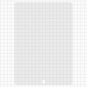 Vidrio de protección templado All Spares para tablet PC Apple iPad Air (iPad 5), 0,26 mm 9H