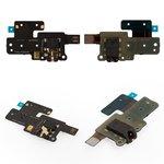 Cable flex puede usarse con Huawei MediaPad X1, de conector de auriculares, con componentes
