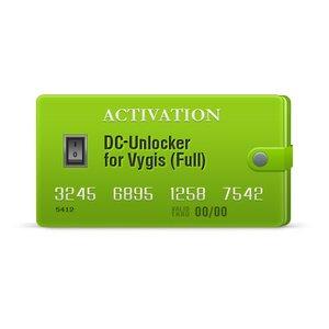 DC-Unlocker – Активация для Vygis (Полная)