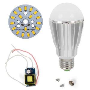Комплект для сборки лампы, SQ-Q17, 9 Вт (теплый белый, E27)