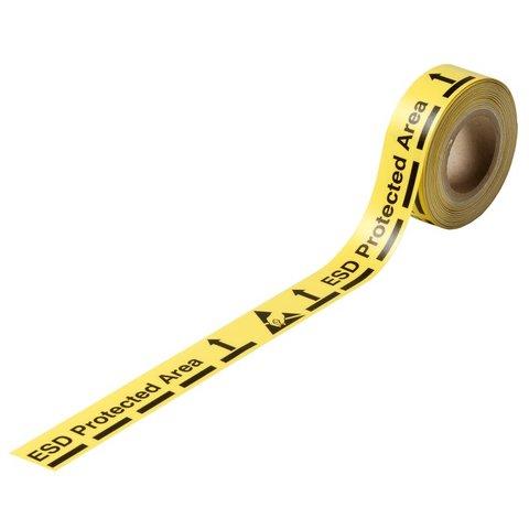 Клейкая лента для маркировки зоны антистатического контроля Warmbier 2822.1.5025