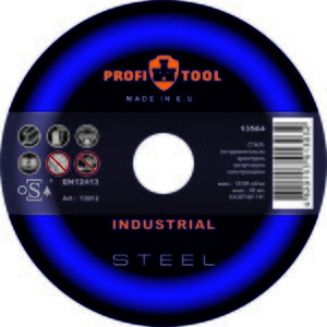 Круг зачистной по металлу PROFITOOL INDUSTRIAL 230х6,0х22,2 мм