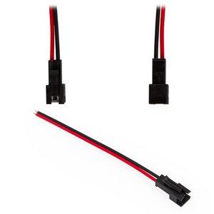 """Соединительный кабель 2-контактный JST для светодиодных лент SMD3528/2835, female-разъем (""""мама"""")"""