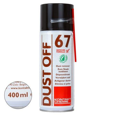 Сжатый воздух с эффектом заморозки Kontakt Chemie DUST OFF 67 400 мл