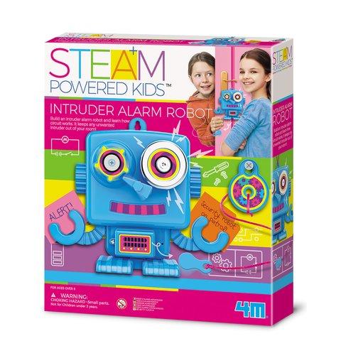 STEAM-набір для дівчаток 4M Робот-охоронець 00-04900