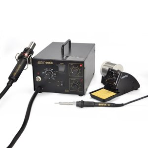 Hot Air Soldering Station AOYUE 906C + Soldering Iron