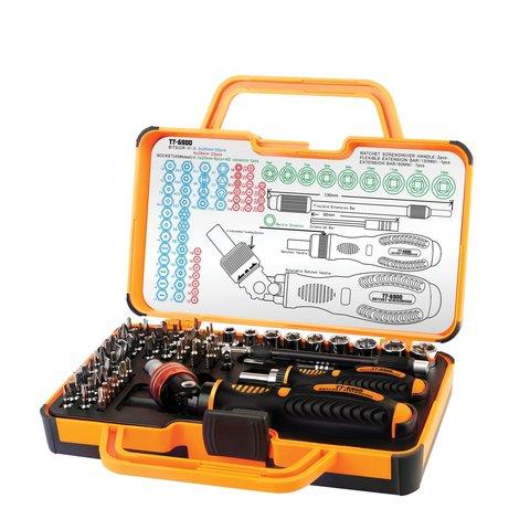 Screwdriver Kit with Bits Jakemy JM 6111 69 in 1